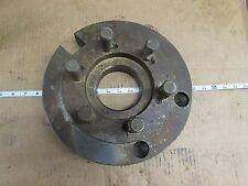 "12"" Lathe Face Plate Driver Plate Cam Lock D1-8 NOS 3-3/4"" Thru Hole"