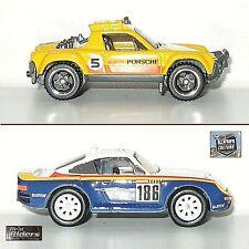 New ListingHot Wheels Porsche 959 Realriders Wild Terrain & Porsche 914 Safari Nightburnerz