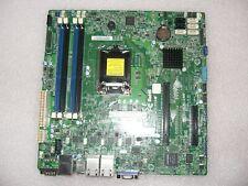 Supermicro X10SLM+-LN4F Mainboard, Xeon, i3, LGA1150, µATX, 4xGLAN, IPMI, DDR3