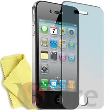 6 Pellicola Per iPhone 4 4S 4th Proteggi Schermo Display Apple Fronte + Panno