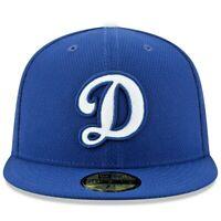 Dodgers D LOGO HAT New Era 59Fifty MLB Cap Baseball Authentic Blue 5950 NEW MLB