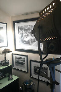 Deltschaft 2KW Filmscheinwerfer,Theaterstrahler,Scheinwerfer,1950er Jahre,Stativ