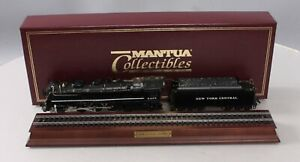 Mantua 356-022 HO NYC Hudson 4-6-4 Steam Locomotive w/ Tender EX/Box