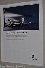 2007 Porsche advertisement, PORSCHE Cayenne plus 911 & Boxster