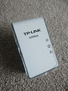 1x TP-LINK AV500 Mini Powerline Adapter TL-PA411 Single unit. Up to 500 mbps