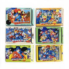 [LOT of 6] ROCKMAN 1-6 Mega man - Empty box custom replacement case set Capcom