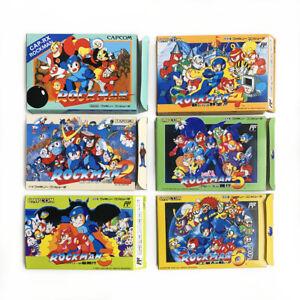 [LOT of 6] ROCKMAN 1-6 Mega man - Empty box spare replacement case set Capcom