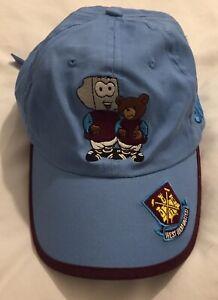 Boys West Ham United Hammers Football Cap, Adjustable⚒