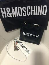 Moschino H&M Lackhandtasche Tasche bag crossbody neu new OVP