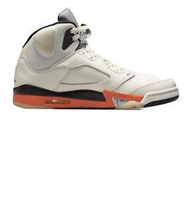 Nike Air Jordan 5 Shattered Backboard Orange Blaze Neu Und Ovp