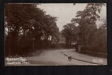 Eccles, near Salford - Sandwich Road, Ellesmere Park. real photographic postcard