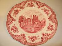 "Johnson Bros England Cambridge Old Britain Castles 10"" Ironstone Dinner Plate"