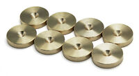 PrecisionGeek - SLIM Brass Speaker spike pads shoes feet - Set of 8 pcs
