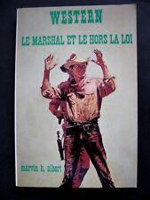 Western N°141 Collection Le Masque Le Marshal et le Hors la loi /Marvin h.albert