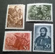 Hungarian 1944 50th Anniversary of the death of Lajos Kossuth samp set -MH-