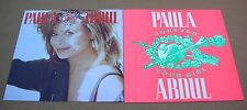 Paula Abdul Forever Your Girl 2 Sided Promo 12x12 Poster Flat 1988 Mint-