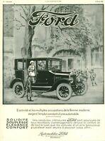 Publicité ancienne voiture automobile Ford 1925 issue de magazine Arnold