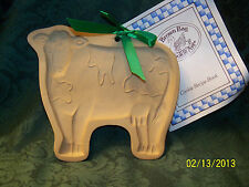 Brown Bag Cookie Art Cookie & Craft Mold, Elaine's Cow, c. 1986