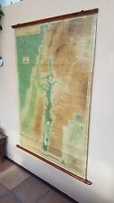Antiguo, Bartolomé mundo encuesta Mapa Serie, Topo & mapa físico de Palestina