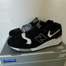 New Balance 999 Retro Running Sneakers Black White Made in USA 9M $180 M999CRK