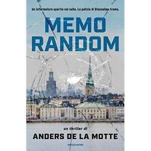Anders De La Motte - Memorandom - Mondadori - 2017