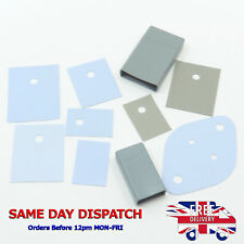 Thermal Conduction Transistor Silicone Sheet Insulation Pad Cap Boot Insulator