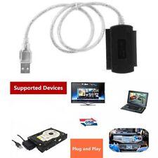 "TPX USB 2.0 to 2.5"" 44pin 3.5"" 40pin IDE SATA Hard Drive Adapter"