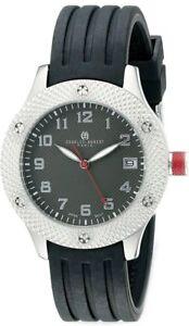 Ladies Charles Hubert Stainless Steel Black Dial Watch XWA5497