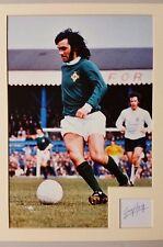 GEORGE BEST Manchester United Irish International Original Signature - RARE