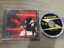 RATM RAGE AGAINST THE MACHINE Live In USA 1993 original silver CD Live Storm