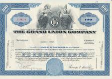 Grand Union Company CAPITAL STOCK CERTIFICATE Market Food Store