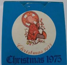 "Schmid Bros. Berta Hummel Christmas 1975 Christmas Ornament ""Christmas Child"""