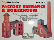 New Metcalfe PO284 Factory Entrance and Boiler House (OO/HO scale)