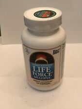 Source Naturals Life Force Multiple No Iron - 120 Capsules