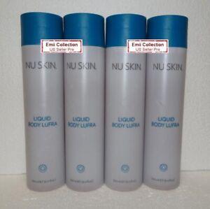 Nu Skin Nuskin Liquid Body Lufra 8.4 oz 250 ml Cleanser Scrub (4 Bottles)