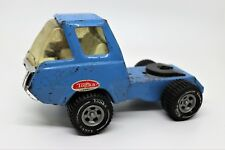 """Tonka 1960s/1970s Vintage Blue Semi Truck Cab 8"""" With 5th Wheel, No Trailer"""
