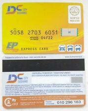 Transport card  Tajikistan. Dushanbe city bank