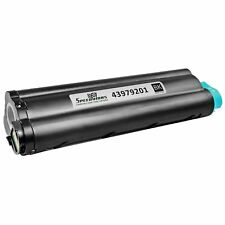 For Okidata 43979201 High Yield Black Laser Toner MB460, MB470, B430d, & B430dn