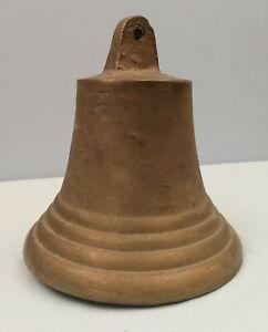 Antica campana italiana in  bronzo diametro 30 cm altezza 30 cm peso 16 Kg