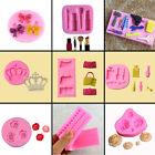 Silicone Rose Flower Fondant Cake Mold Lace Handbag Mould Decorating Tools