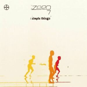 ZERO 7 simple things (CD album, 2001) downtempo, electronic, very good condition