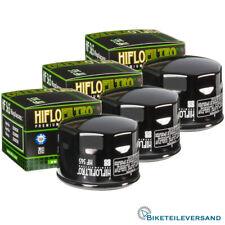 3X HIFLO Premium Ölfilter HF565