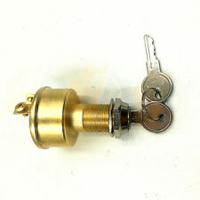 Marine Brass Construction Ignition Switch for Universal Boats MP39060-1