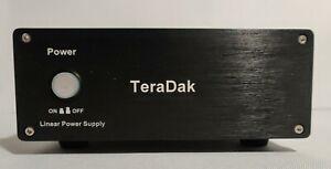 TeraDak Linear Power Supply-DC12V 3A-115VAC-Black-US Seller