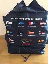 New Paul Shark Jacket Bag Borsa Tracolla Blue Navy