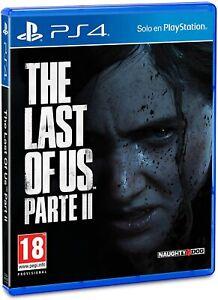 THE LAST OF US 2 PARTE II PS4 FISICO CD NUEVO PRECINTADO CASTELLANO ESPAÑOL