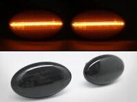 LED Side Markers Smoke Lens Lights For For Subaru 02-07 Impreza WRX STI GDA GDB