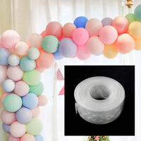 5M Balloon Chain Arch Connect Strip For Wedding Birthday Party Decorating New