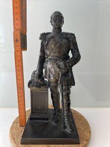 Otto von Bismarck Bronze Figur Statue 27cm