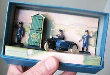 Pre war Dinky Toys  RAC Set  No.43 1935-1941 In repro box  Scarce Fair to Good+